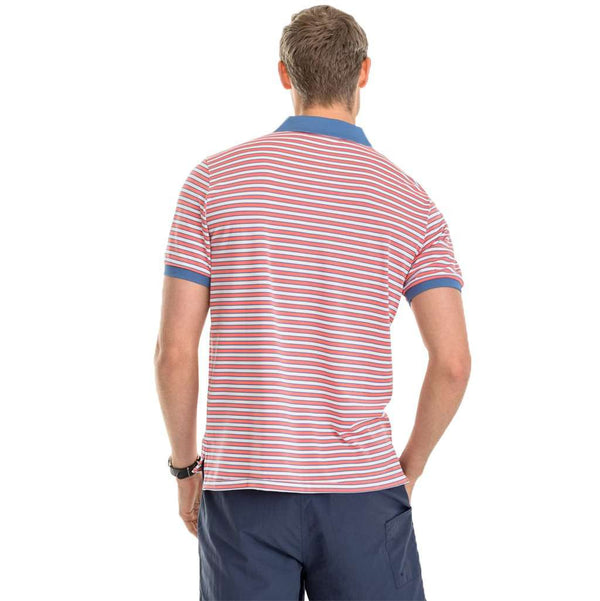 f49f9885c Southern Tide Jack Stripe Performance Pique Polo Shirt by Southern Tide Country  Club Prep ...