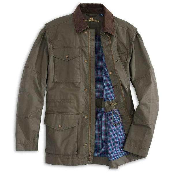 Southern Tide Maritime Jacket in Lakeside Pine