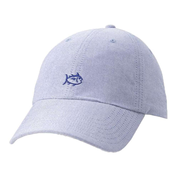 Southern Tide Oxford Cotton Skipjack Hat cobalt blue