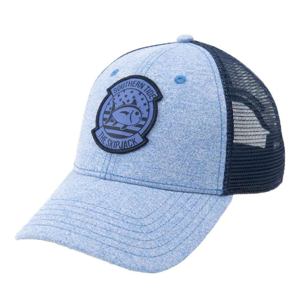 Southern Tide Patriot Patch Heather Trucker Hat