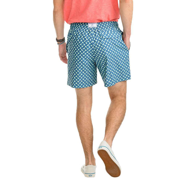 Southern Tide Pick Up Limes Swim Trunk