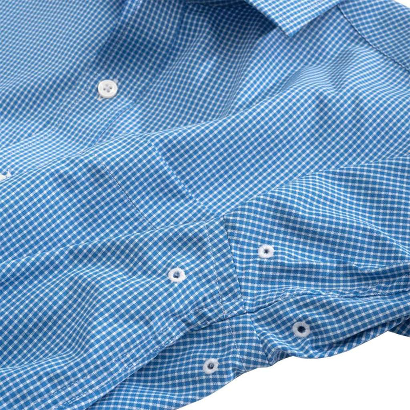Pitons Plaid Brrrº Intercoastal Performance Shirt by Southern Tide - FINAL SALE
