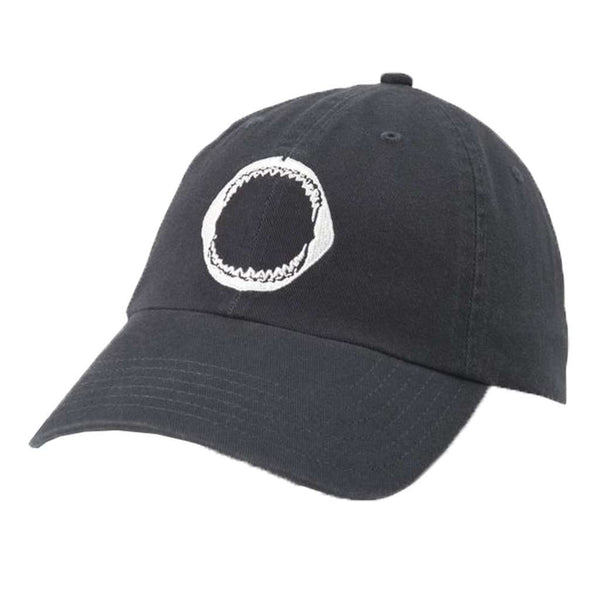 Southern Tide Shark Jaw Embroidered Hat in Dark Navy