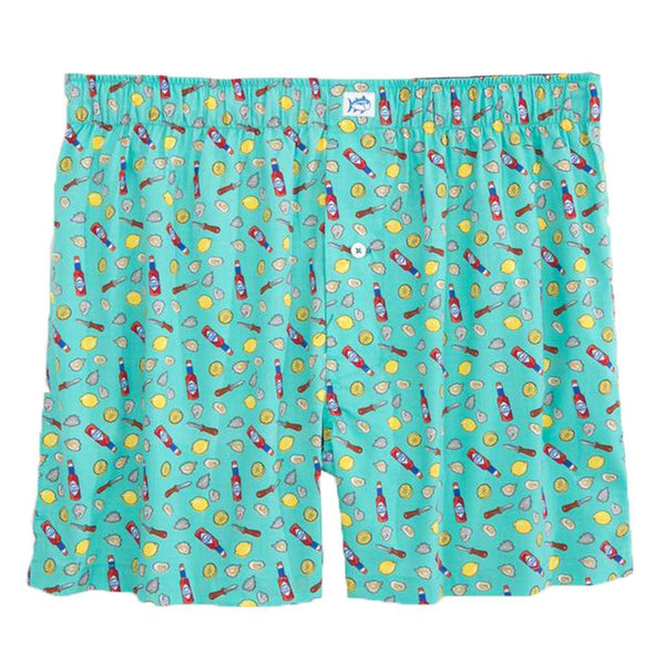 Southern Tide Shuck Off Boxer in Mint