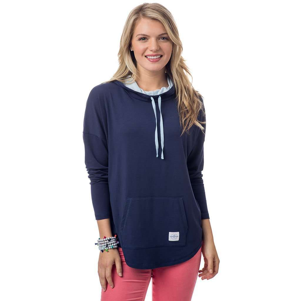 Southern Tide Skipper Hoodie in Nautical Navy