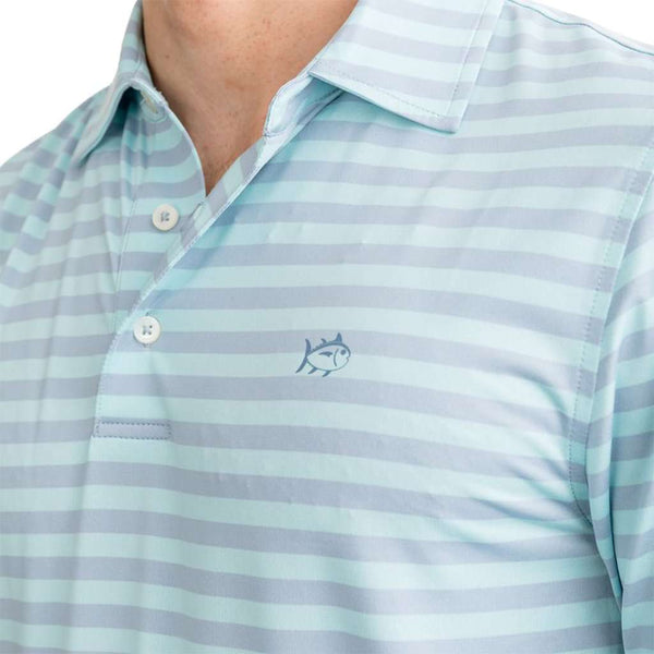 Southern Tide Sonar Performance Striped Polo Shirt