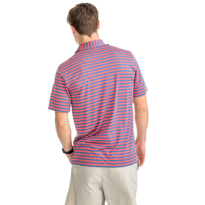 Sonar Performance Striped Polo Shirt by Southern Tide - FINAL SALE