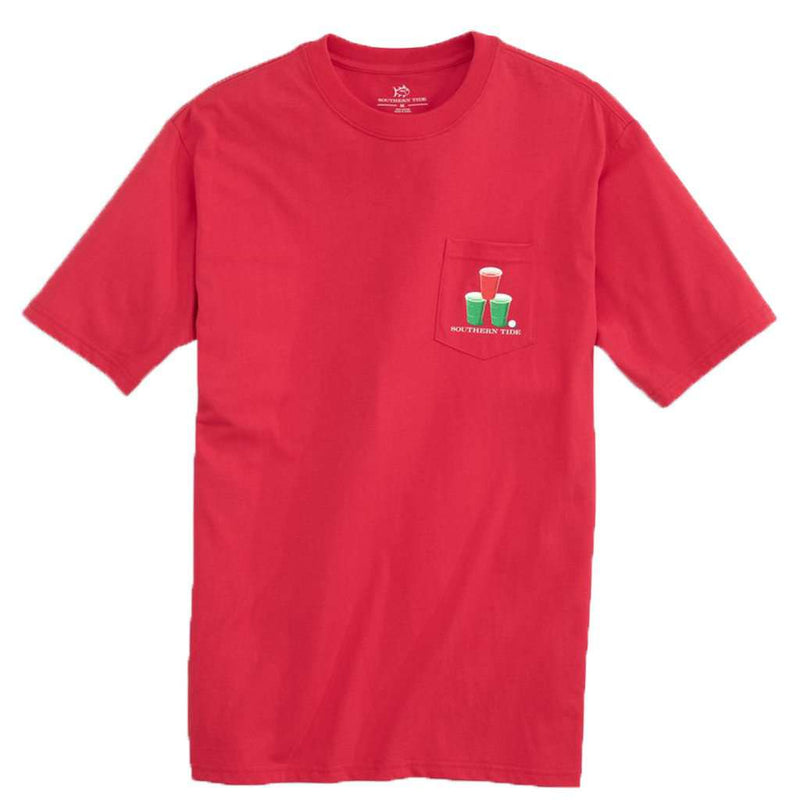 Southern Snowball T-Shirt in Reggae Red by Southern Tide