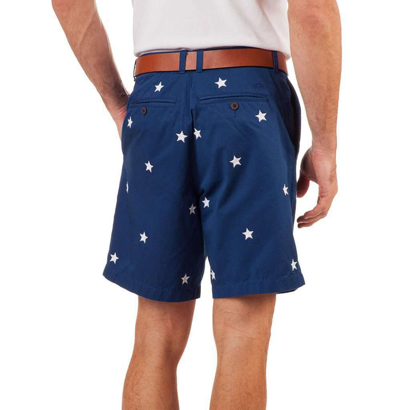 Star Spangled Short in Yacht Blue by Southern tide - FINAL SALE