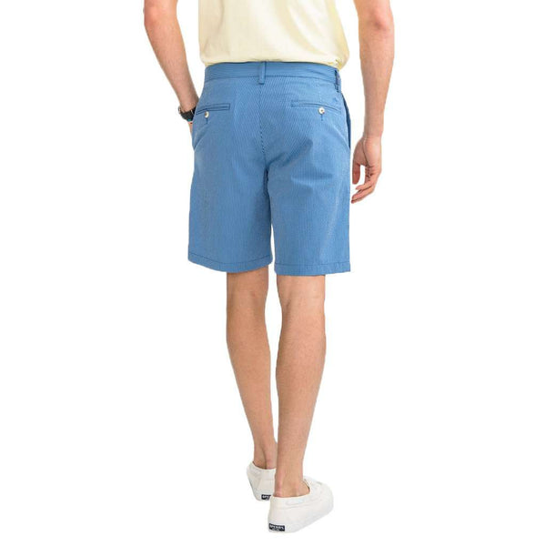 Tonal Seersucker Skipjack Short by Southern Tide - FINAL SALE