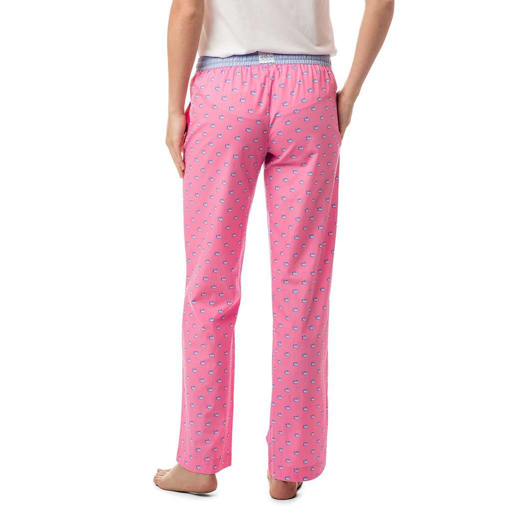 Southern Tide Women's Skipjack Lounge Pant in Smoothie Pink