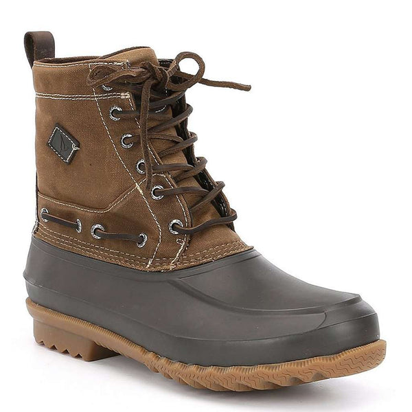 Sperry Men´s Decoy Waxed Canvas Waterproof Boot in Tan