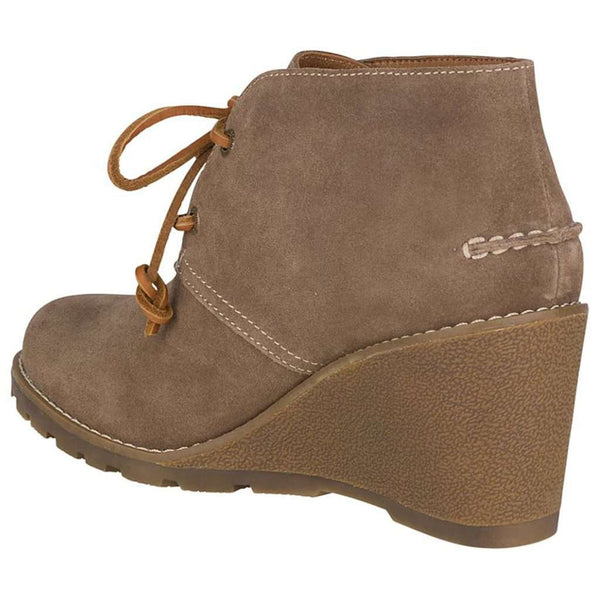 Women's Celeste Prow Bootie in Taupe by Sperry - FINAL SALE