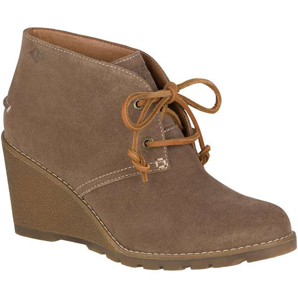 Sperry Women's Celeste Prow Bootie in Taupe