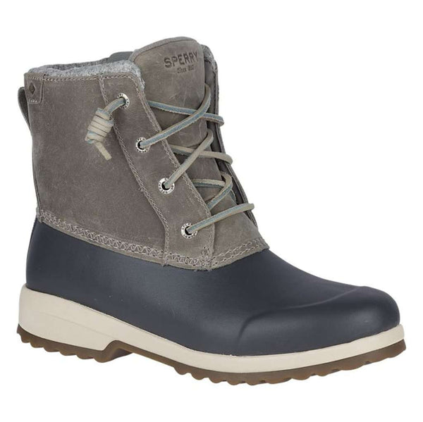 Sperry Women's Maritime Repel Boot in Grey