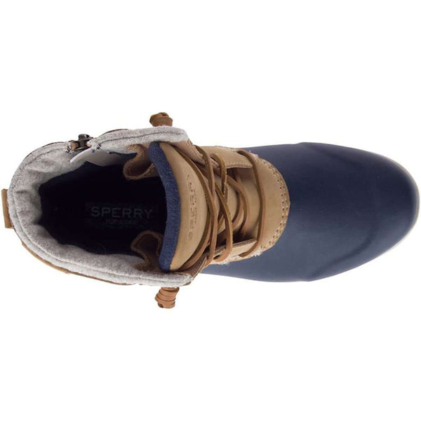 Sperry Women's Maritime Repel Boot in Tan & Navy by Sperry
