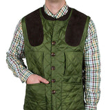 Sportsman Shooting Vest in Live Oak Green by Southern Proper  - 1