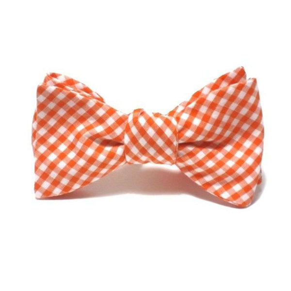 Starboard Clothing Co. Erdmann Orange Gingham Beau