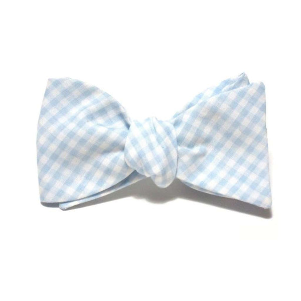 Gilmer Horton Light Blue Gingham Beau by Starboard Clothing Co.