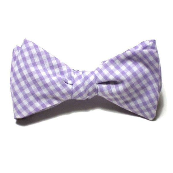 Starboard Clothing Co. Jessica Sarah Light Purple Gingham Beau