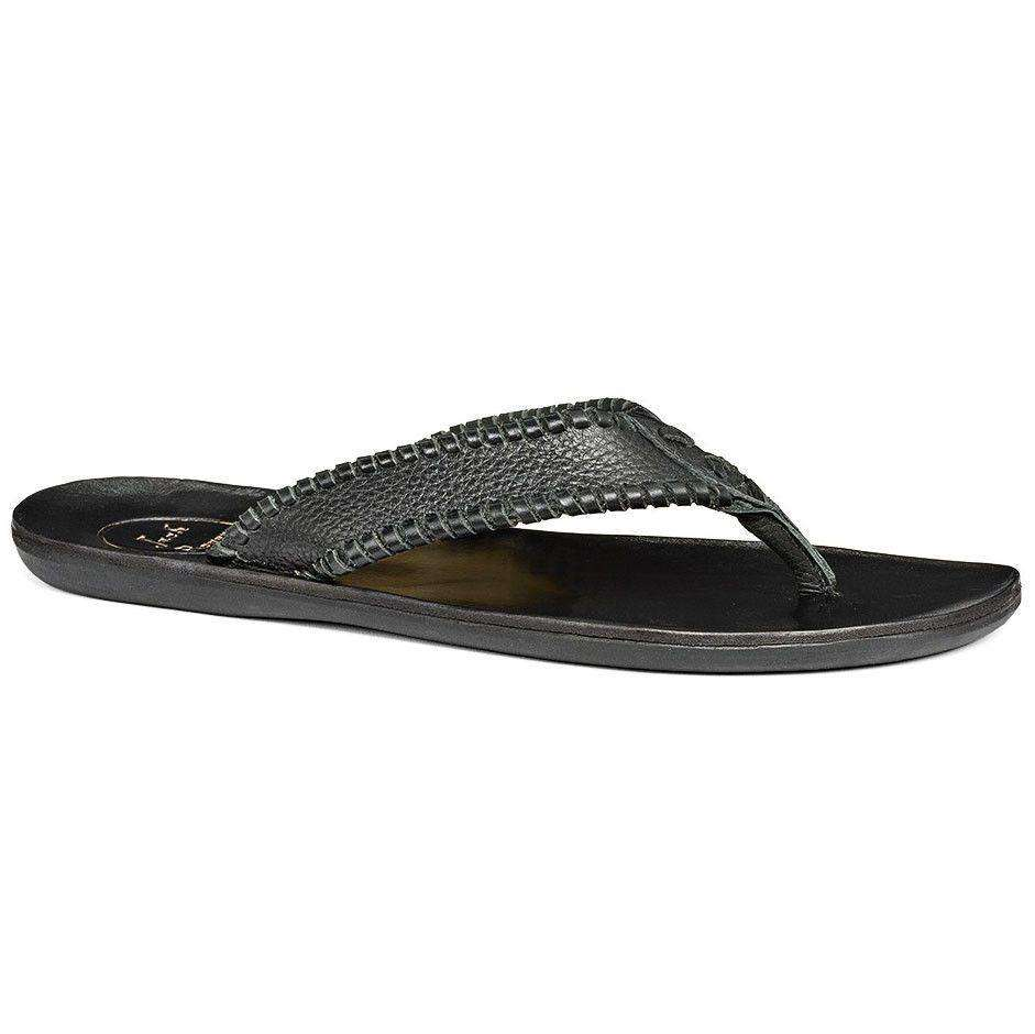 Men's Sullivan Sandal in Black by Jack Rogers
