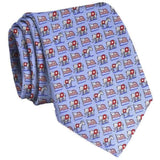 Surprise Party Neck Tie in Blue by Bird Dog Bay