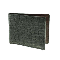 TB Phelps Lancaster Alligator Wallet in Black by TB Phelps