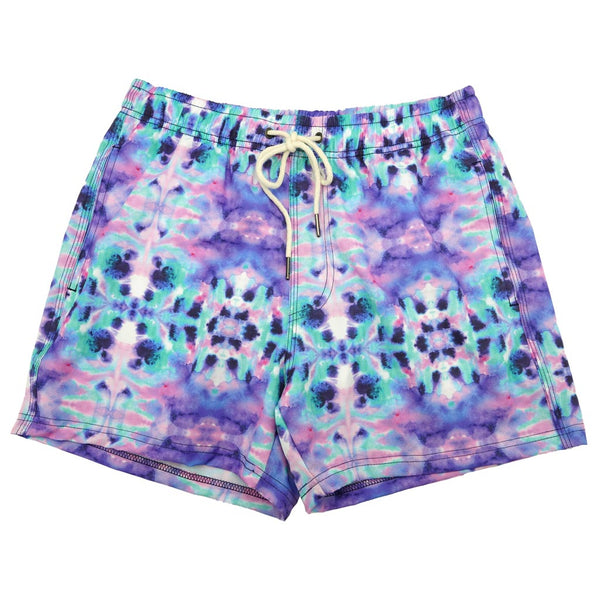 High Tied Swim Trunks by Two Left Feet