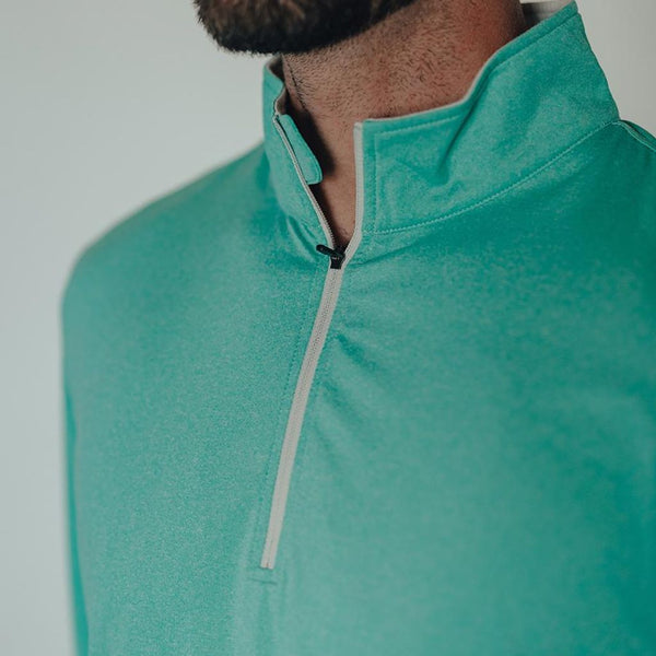 Performance Quarter Zip Pullover by The Normal Brand