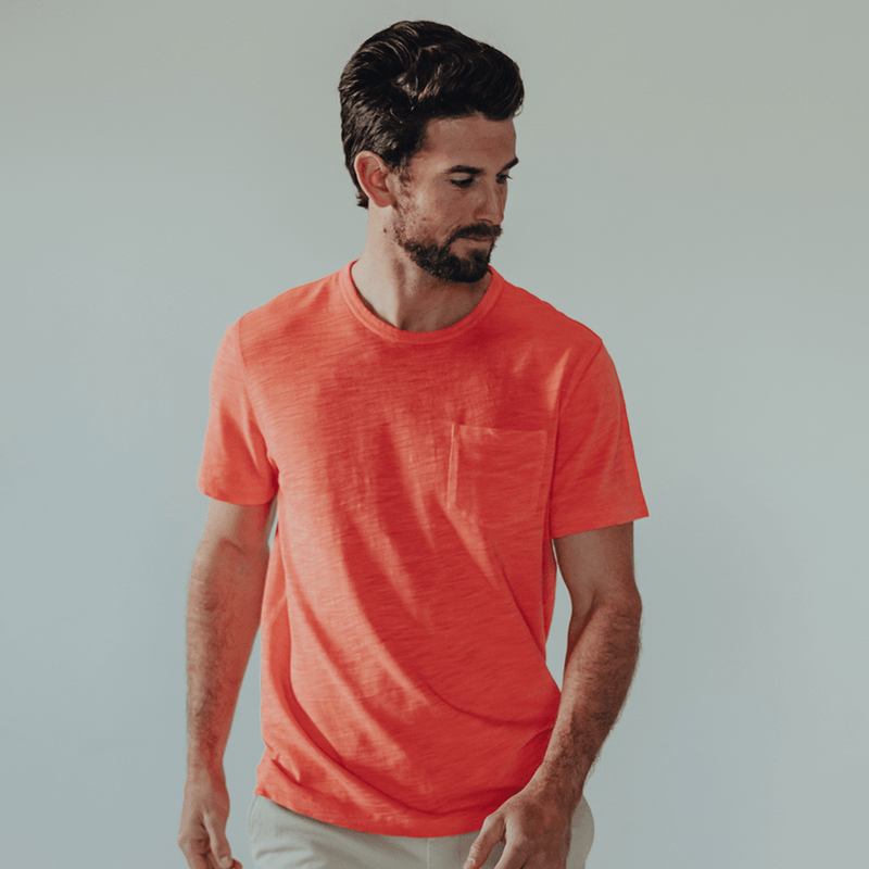 Vintage Slub Short Sleeve Pocket Tee by The Normal Brand