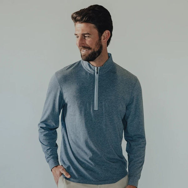 Active Puremeso Quarter Zip Pullover by The Normal Brand