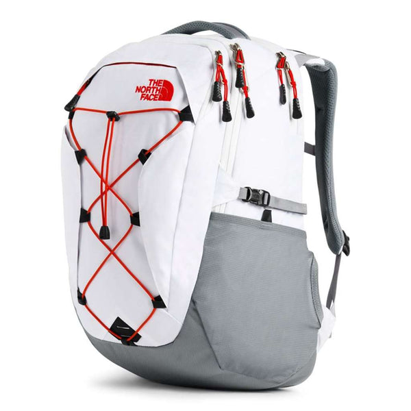 Country Club Prep TNF White Heather and Mid Grey
