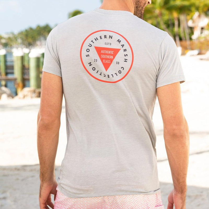 The Seawash Boulder Patch Tee Shirt by Southern Marsh