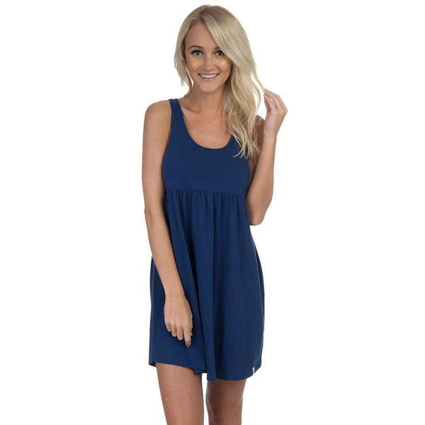 Tailgate Dress in Sailor Navy by Lauren James  - 1