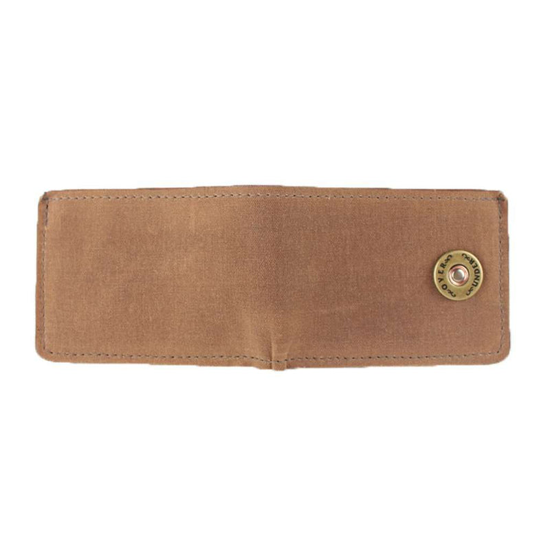 Over Under Clothing The Waxed Canvas Bifold in Field Tan by Over Under Clothing