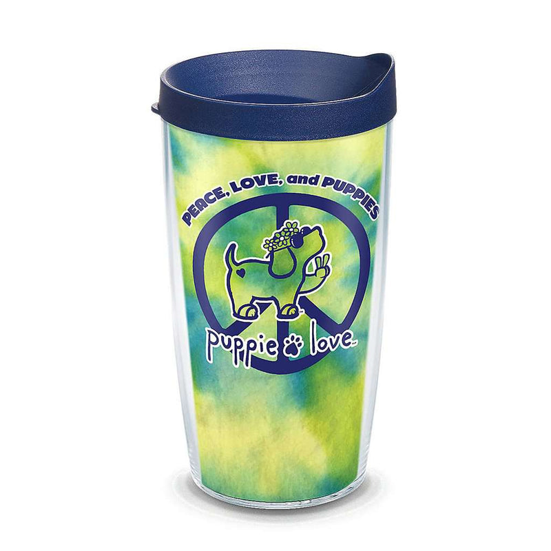 Tervis Puppie Love Peace Puppy 16oz Tumbler