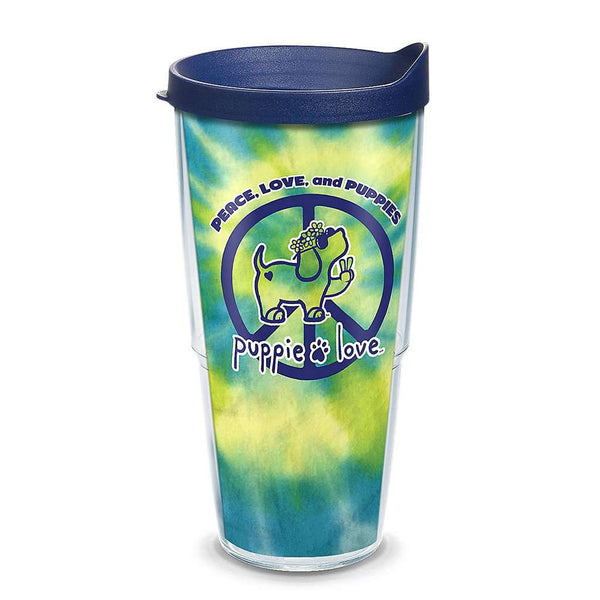 Puppie Love Peace Puppy 24oz Tumbler by Tervis