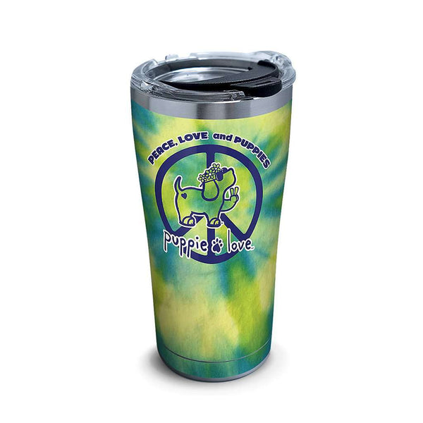 Tervis Puppie Love Peace Puppy Stainless Steel 20oz Tumbler
