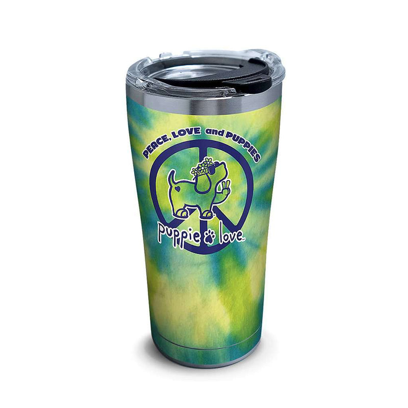 Puppie Love Peace Puppy Stainless Steel 20oz Tumbler by Tervis