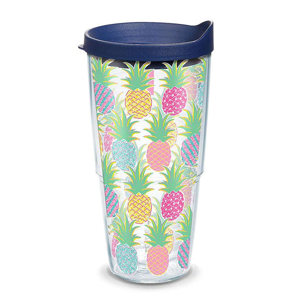 Tervis Simply Southern® Colorful Pineapples 24oz Tumbler by Tervis