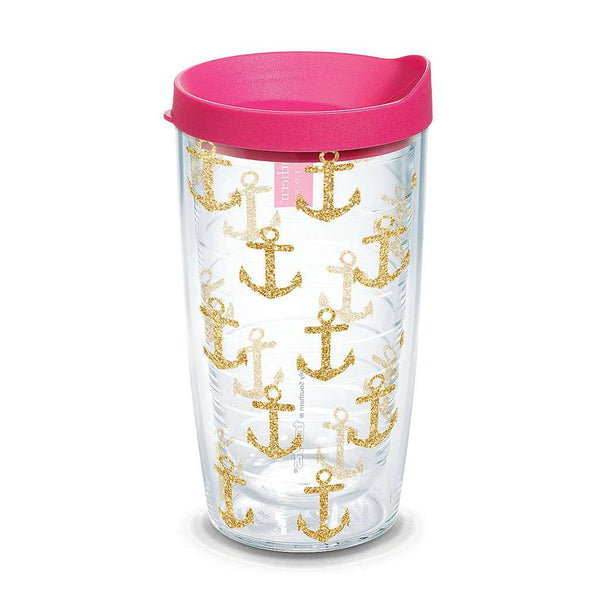 Tervis Simply Southern® Gold Anchors 16oz Tumbler by Tervis