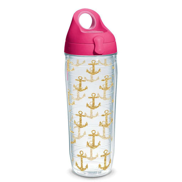 Simply Southern® Gold Anchors 24oz Water Bottle by Tervis