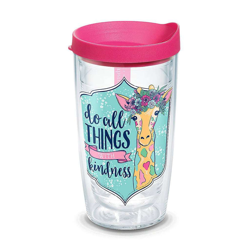 Simply Southern® Kindness Giraffe 16oz Tumbler by Tervis