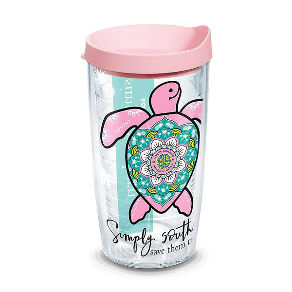 Simply Southern® Turtle Boho 16oz Tumbler by Tervis