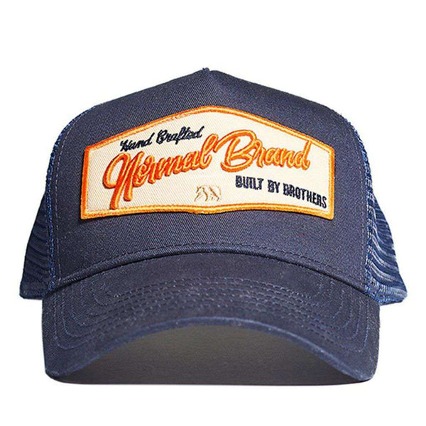 Built by Brothers Cap in Navy by The Normal Brand - FINAL SALE