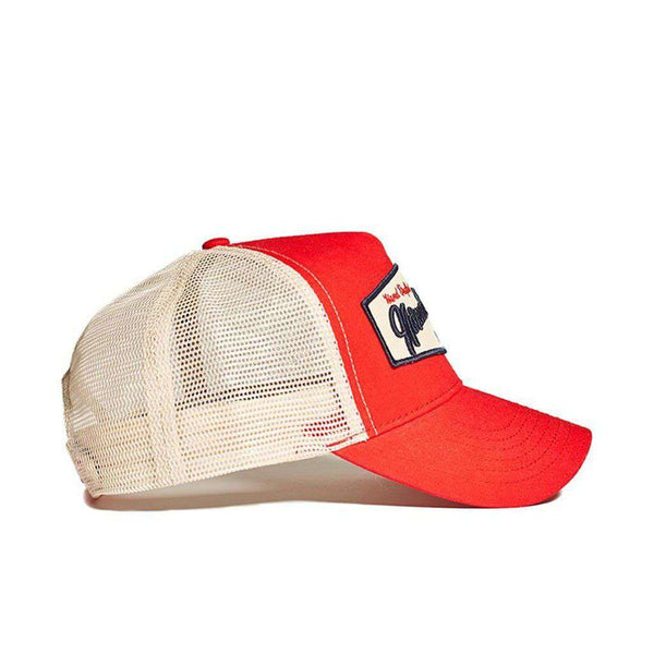 Built by Brothers Cap in Red by The Normal Brand - FINAL SALE