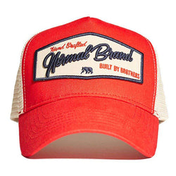 The Normal Brand Built by Brothers Cap in Red – Country Club Prep 94c787440f4