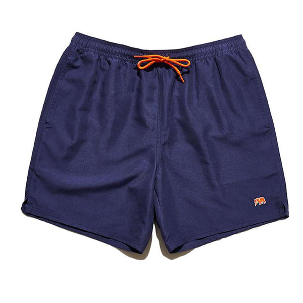Country Club Prep S / Navy & Orange