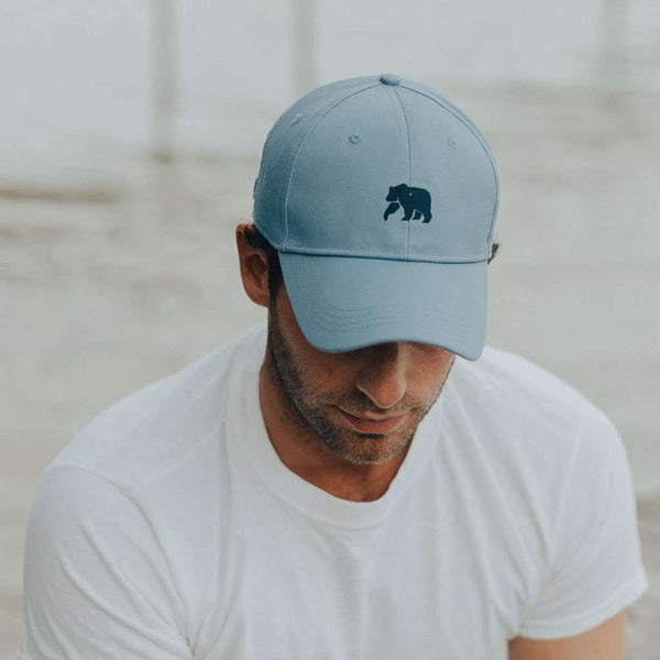 The Performance Bear Cap in Blue by The Normal Brand - FINAL SALE