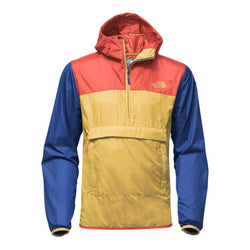 6141387eb Men's Fanorak in Olivenite Yellow Multi by The North Face - FINAL SALE